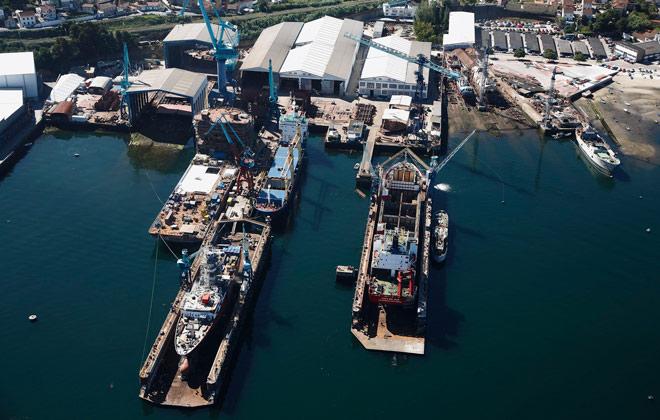 Astilleros Rodman - Metalships & Docks en Vigo,