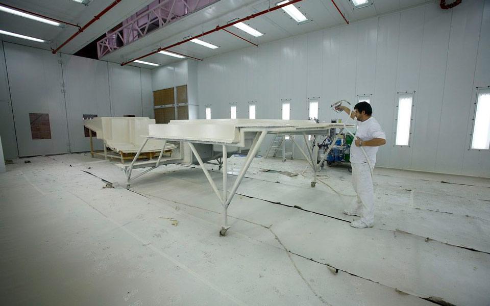 Cabina de Pintura | Advanced Composites by Rodman