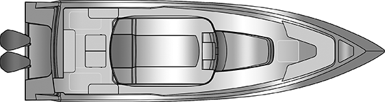 Plano Rodman 33 Offshore - Planta 1