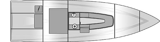 Plano Rodman 33 Offshore - Planta 3