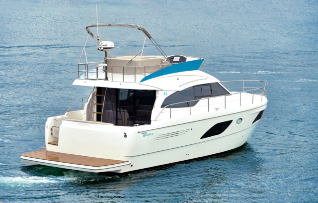 Rodman Spirit 42′ Fly Bridge