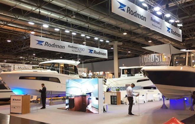 Rodman en el salón náutico Boot Düsseldorf 2020