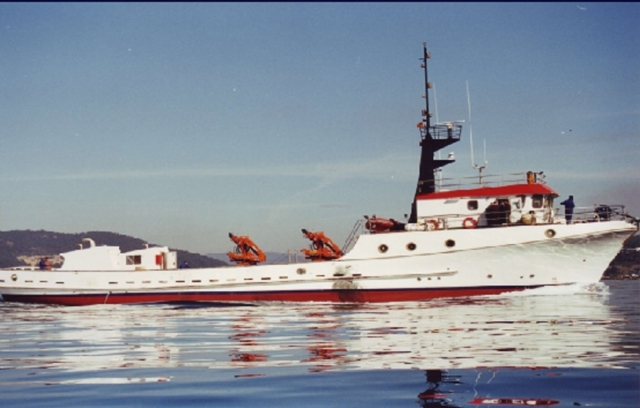 Rodman 120 Barco de pesca profesional