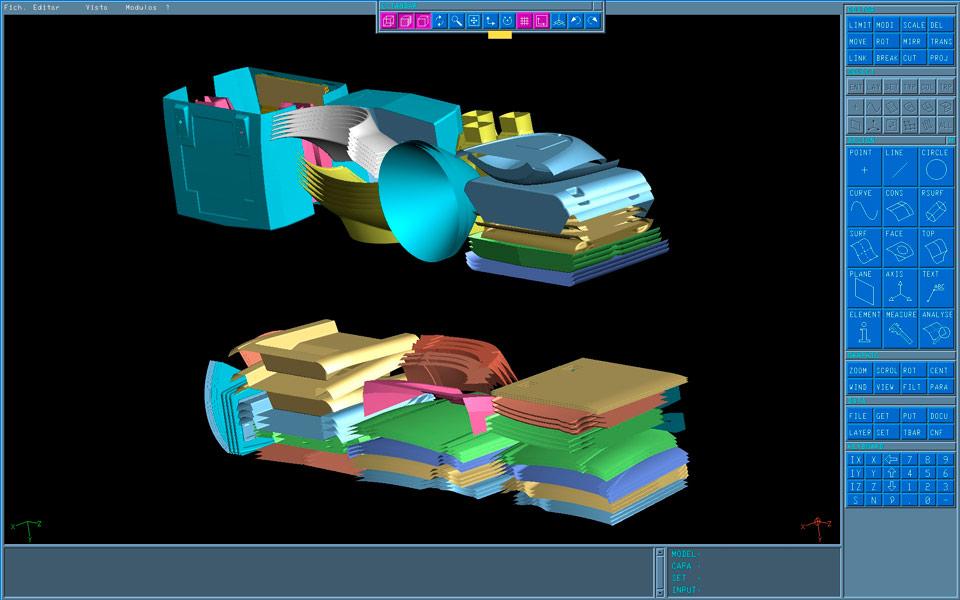 Tecnología Advanced Composites by Rodman